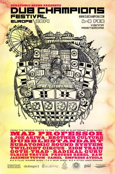 Dub Champions Festival Europe 6-8 Feb 2014