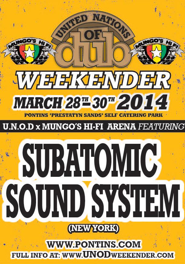 MUNGOS ARENA_Subatomic Sound System