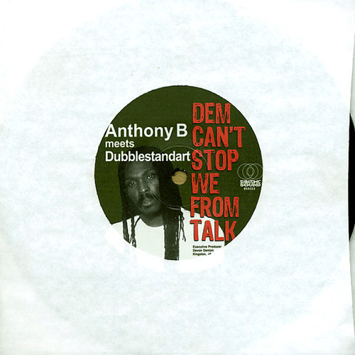 Anthony B Dem Can't Stop We From Talk vinyl