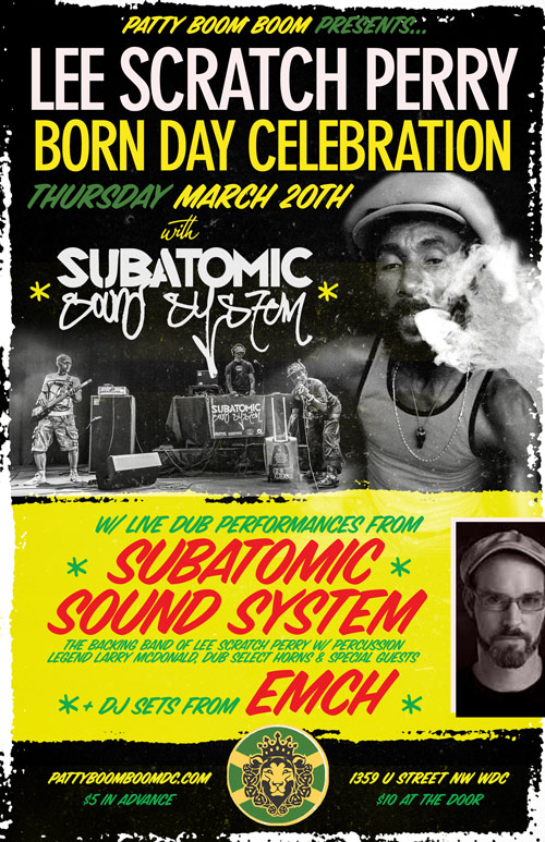 Lee Scratch Perry Subatomic Sound System