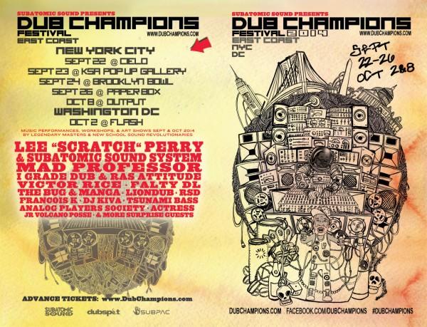 Dub Champions Festival East Coast 2014
