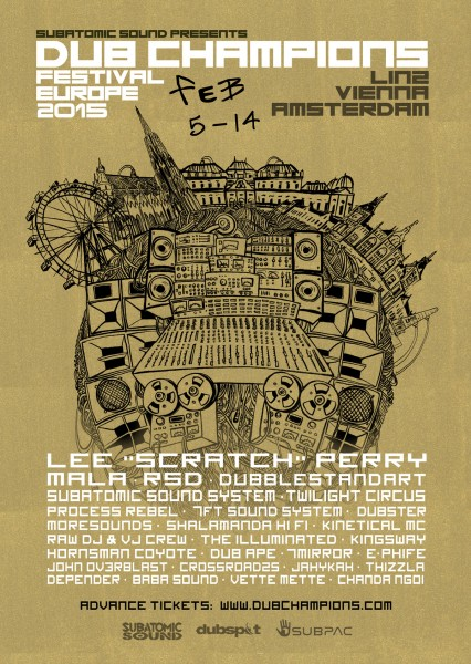 Dub Champions Festival Europe 2015