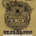 Dub Champions Festival Vienna Poster 2015 MoreSound Fluc Wanne