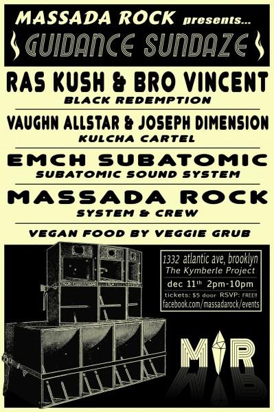 Massada Rock December 11 2016 Brooklyn
