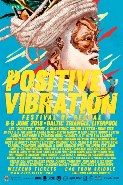 Positive Vibration Festival, Lee Scratch Perry & Subatomic Sound System, dub reggae sound system