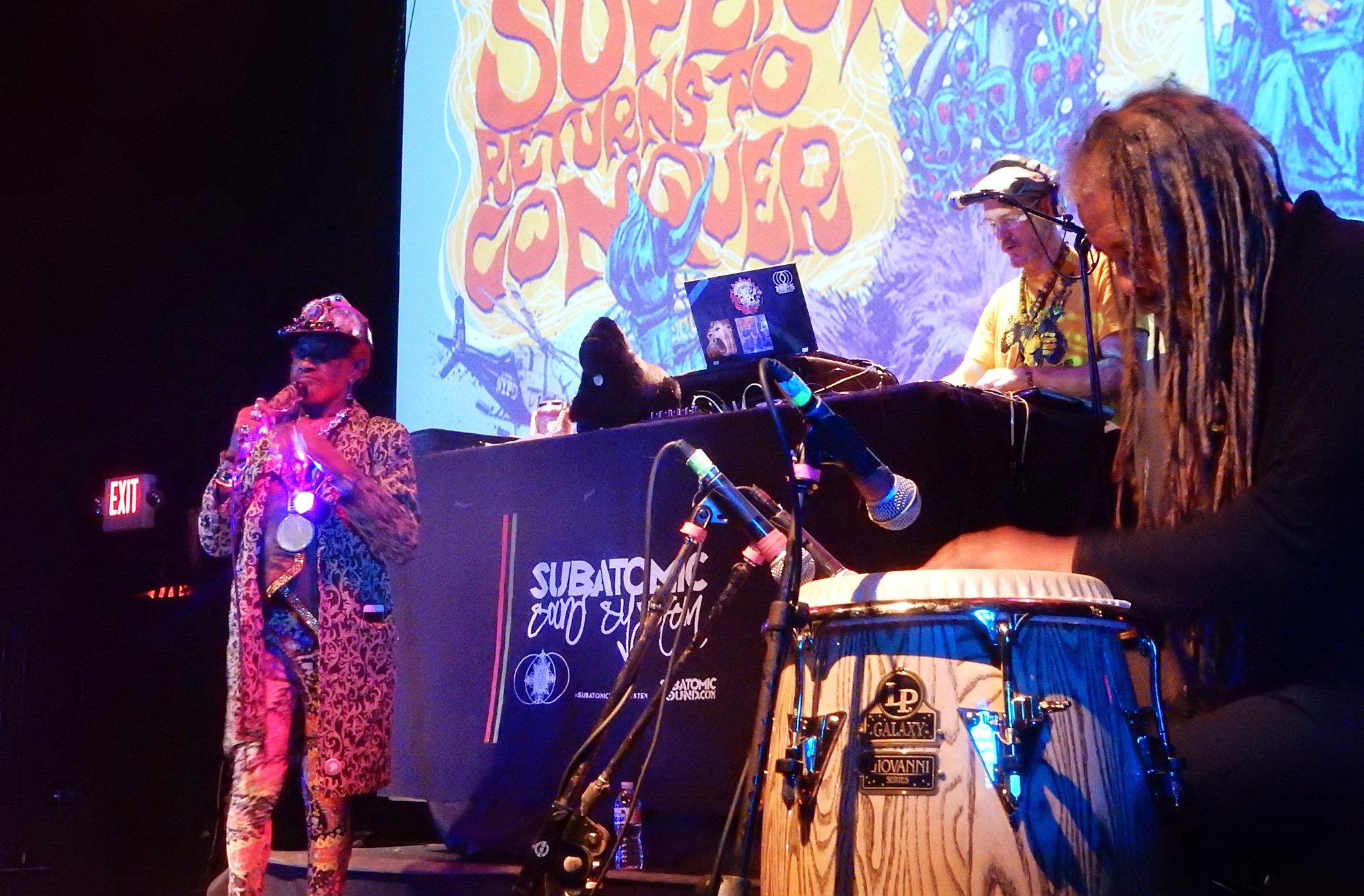 "Lee ""Scratch"" Perry + Subatomic Sound System ""Blackboard"