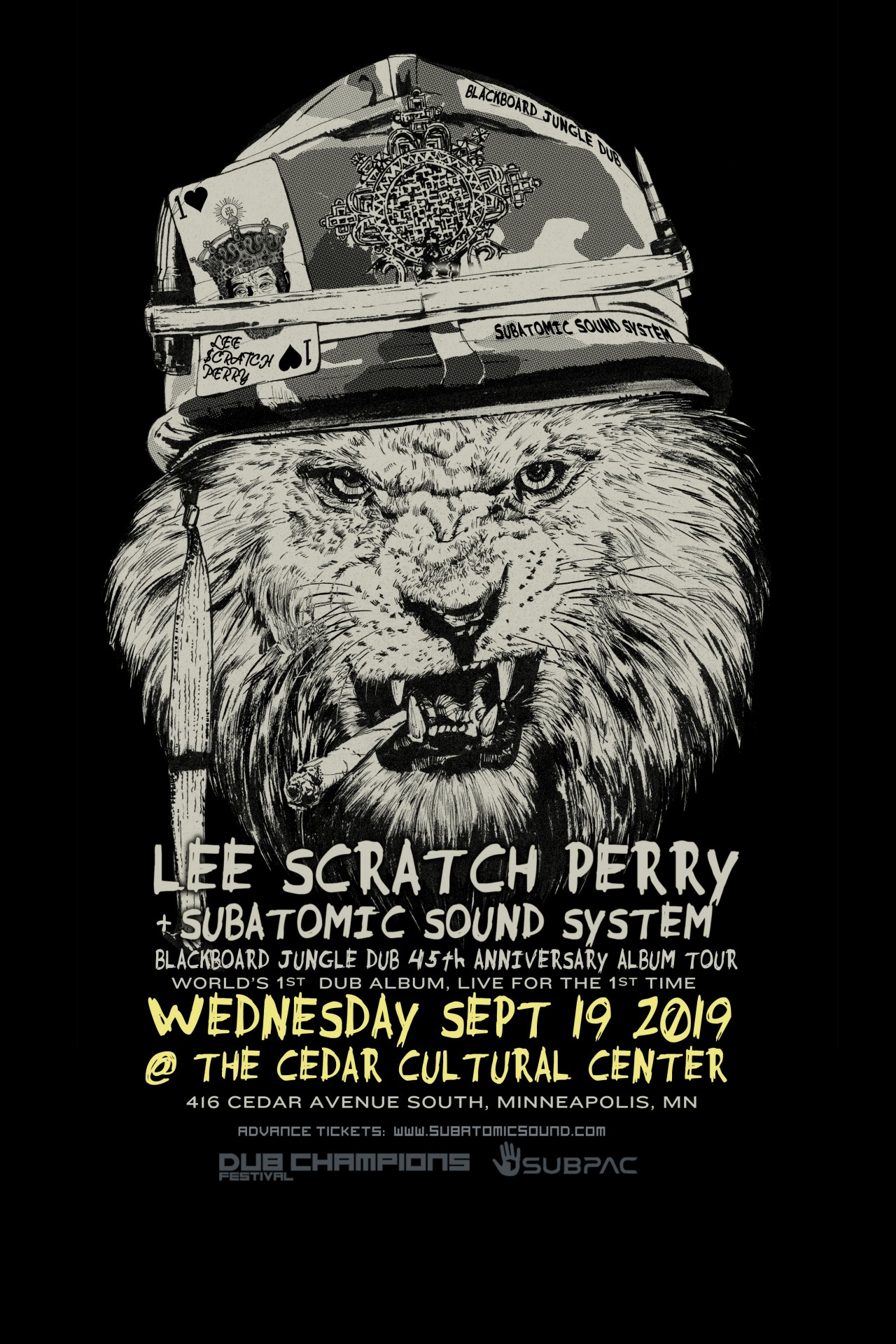 Subatomic Sound System — all things dubwise and bass heavy