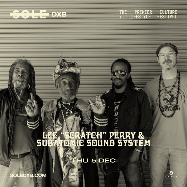 Lee Scratch Perry & Subatomic Sound System SoleDxb Dubai